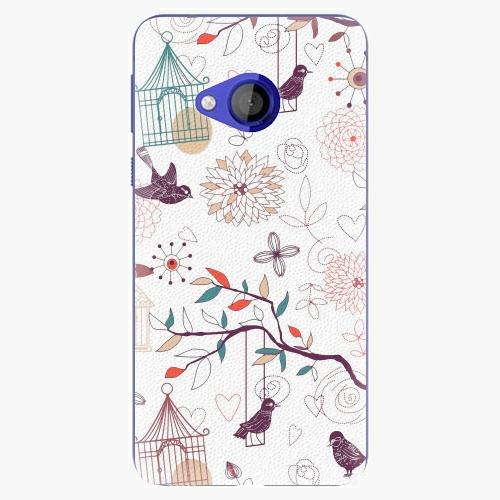 Plastový kryt iSaprio - Birds - HTC U Play