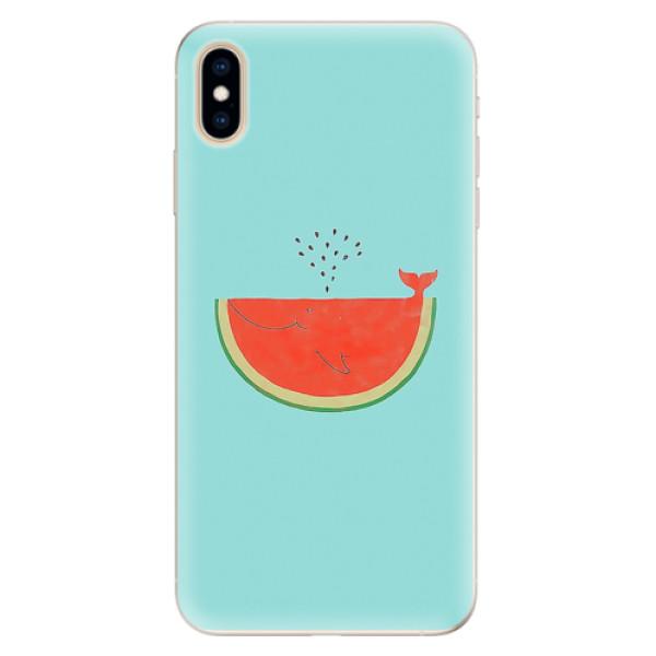 Silikonové pouzdro iSaprio - Melon - iPhone XS Max