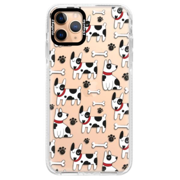 Silikonové pouzdro Bumper iSaprio - Dog 02 - iPhone 11 Pro Max