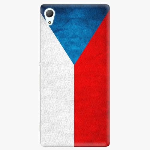 Plastový kryt iSaprio - Czech Flag - Sony Xperia Z3+ / Z4