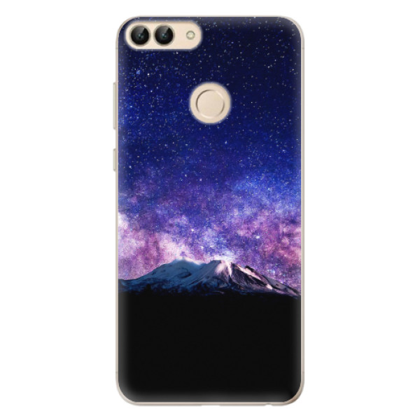 Odolné silikonové pouzdro iSaprio - Milky Way - Huawei P Smart