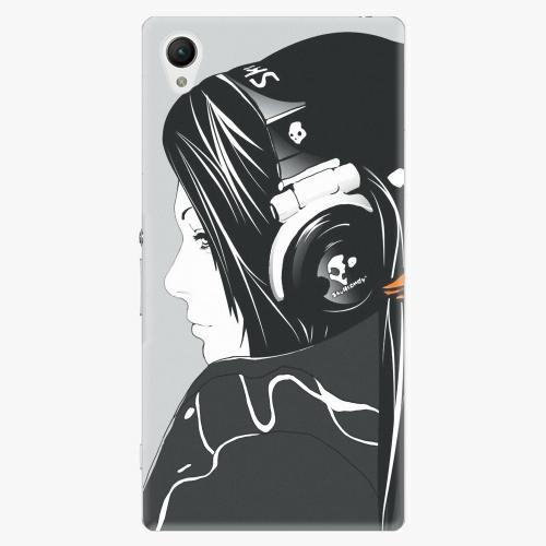 Plastový kryt iSaprio - Headphones - Sony Xperia Z1 Compact