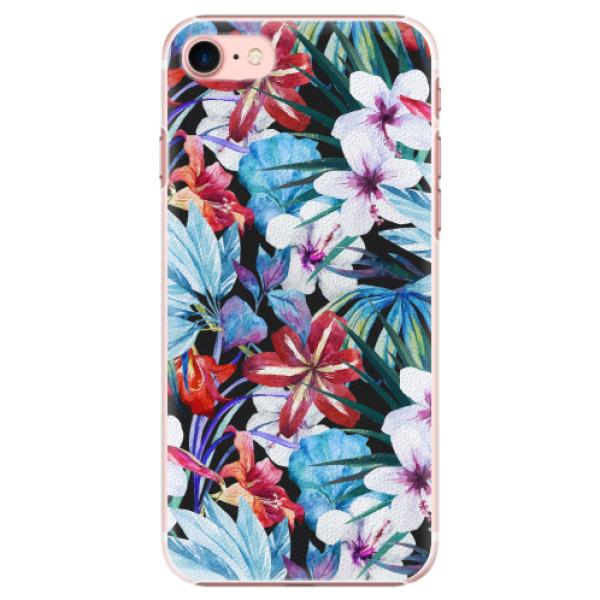 Plastové pouzdro iSaprio - Tropical Flowers 05 - iPhone 7