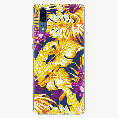 Plastový kryt iSaprio - Tropical Orange 04 - Huawei P20