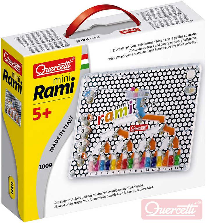 QUERCETTI Hra logická Mini Rami kuličková mozaika
