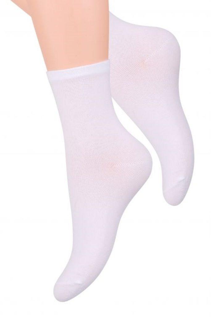 Dámské ponožky 037 white