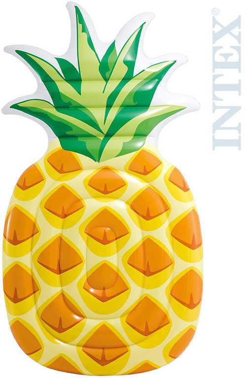 INTEX Lehátko ananas 216x124cm nafukovací matrace na vodu 58761