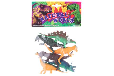 Zvířátka dinosauři v sáčku