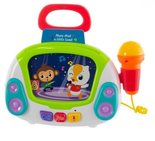 Euro Baby Multimediální hračka Karaoke