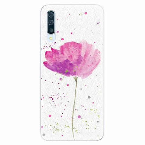 Silikonové pouzdro iSaprio - Poppies - Samsung Galaxy A50