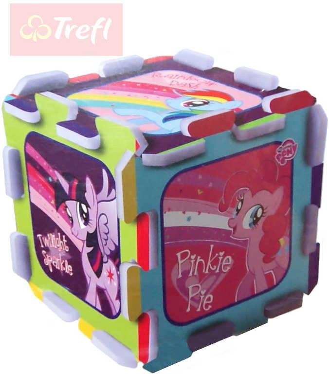 TREFL PUZZLE Pěnové My Little Pony 32x32cm soft měkké bloky set 8ks