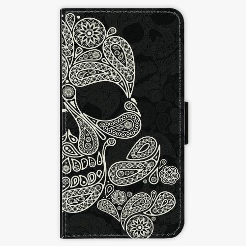 Flipové pouzdro iSaprio - Mayan Skull - Samsung Galaxy S6 Edge