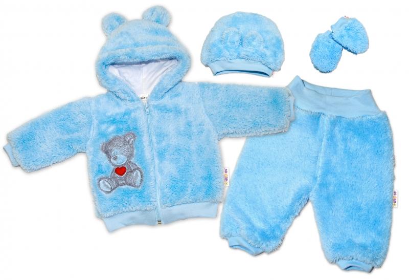 baby-nellys-chlupackovy-komplet-welsoft-teddy-modry-56-1-2m