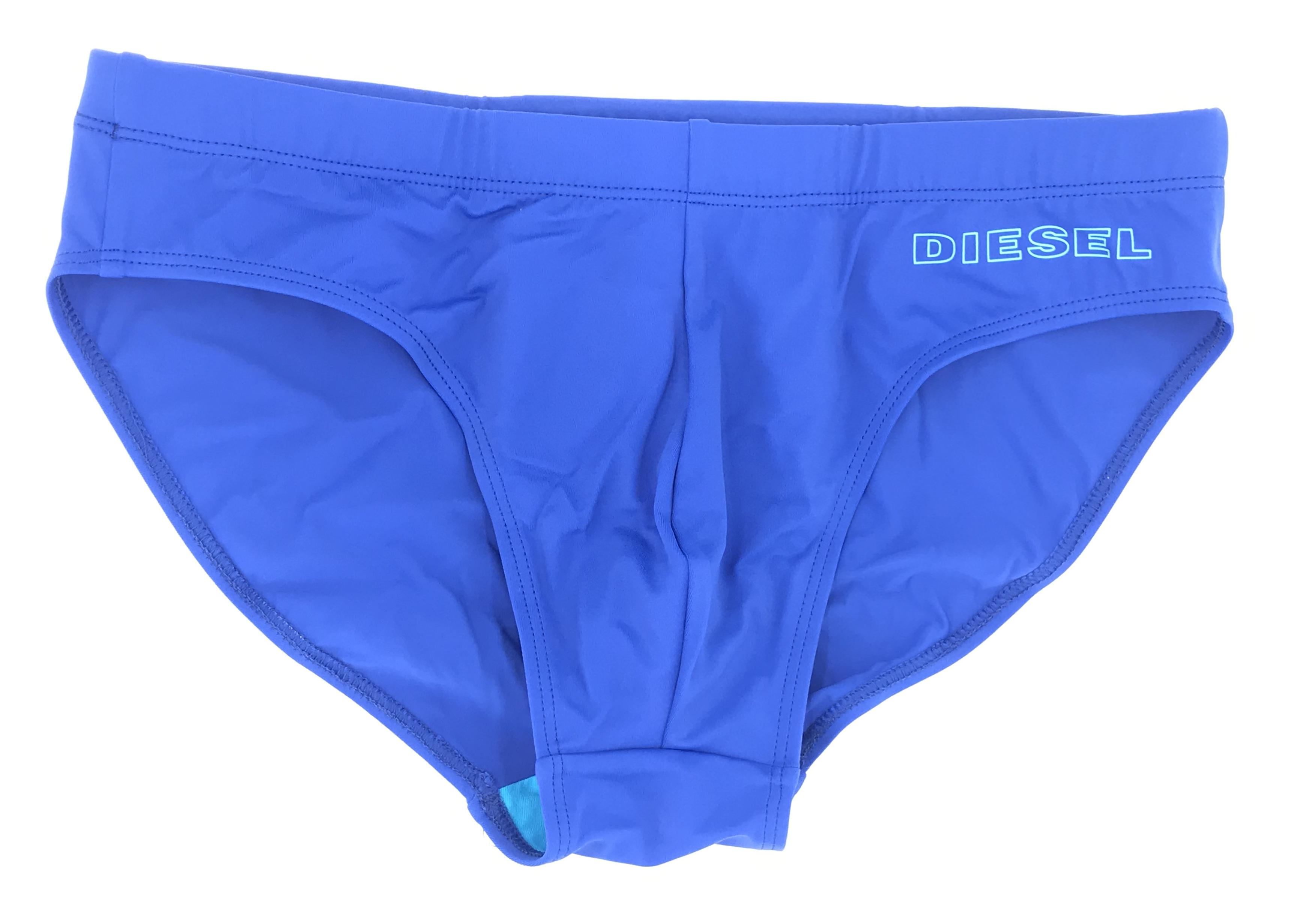 Pánské plavky Jack 00SMNQ-0EAUV-8CR modrá - Diesel - Modrá/L
