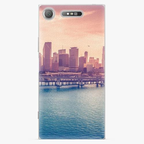 Plastový kryt iSaprio - Morning in a City - Sony Xperia XZ1