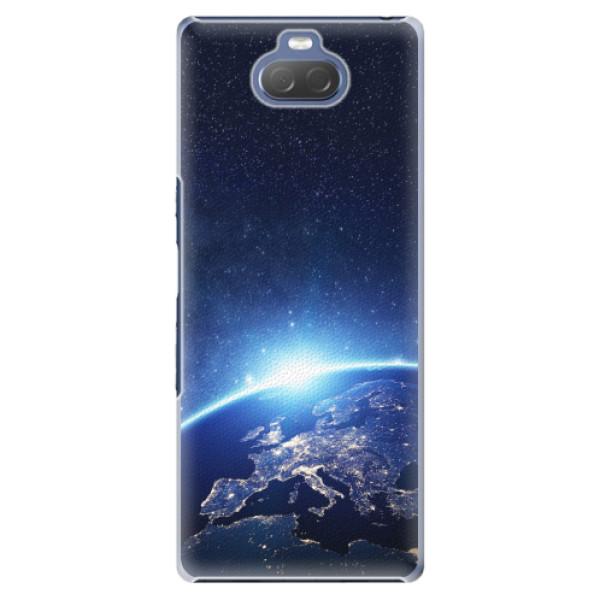 Plastové pouzdro iSaprio - Earth at Night - Sony Xperia 10