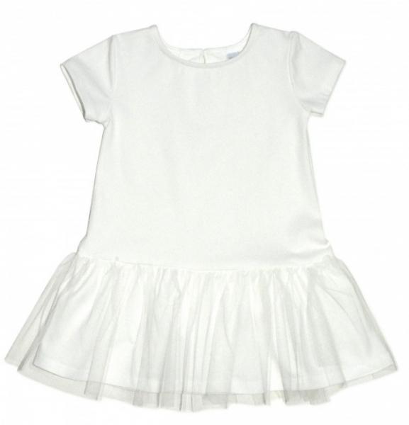 Dívčí šaty K-Baby - smetanové, vel.