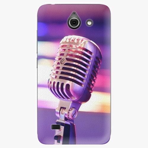 Plastový kryt iSaprio - Vintage Microphone - Huawei Ascend Y550