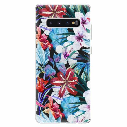 Plastový kryt iSaprio - Tropical Flowers 05 - Samsung Galaxy S10+