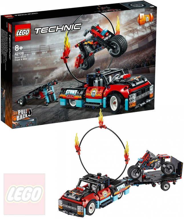 LEGO TECHNIC Kaskadérská vozidla 2in1 42106 STAVEBNICE
