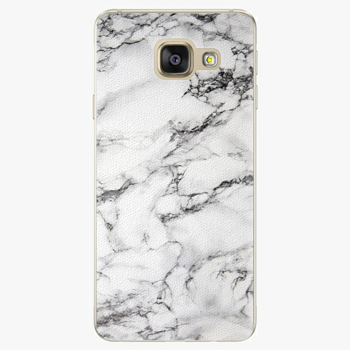 Plastový kryt iSaprio - White Marble 01 - Samsung Galaxy A3 2016