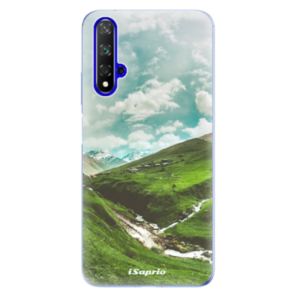 Odolné silikonové pouzdro iSaprio - Green Valley - Huawei Honor 20