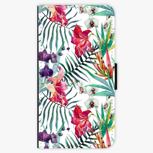 Flipové pouzdro iSaprio - Flower Pattern 03 - Samsung Galaxy S7