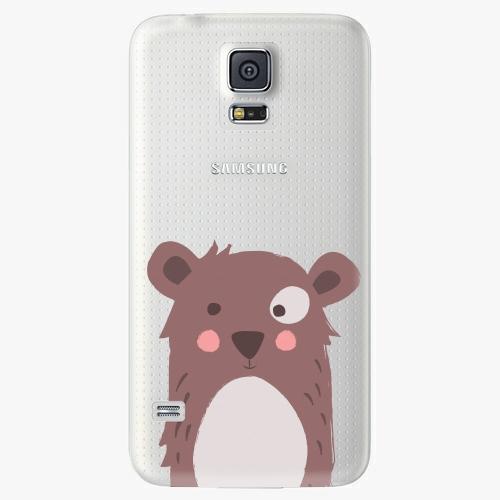 Plastový kryt iSaprio - Brown Bear - Samsung Galaxy S5