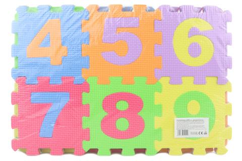 Pěnové puzzle 36 ks čísla a písmena