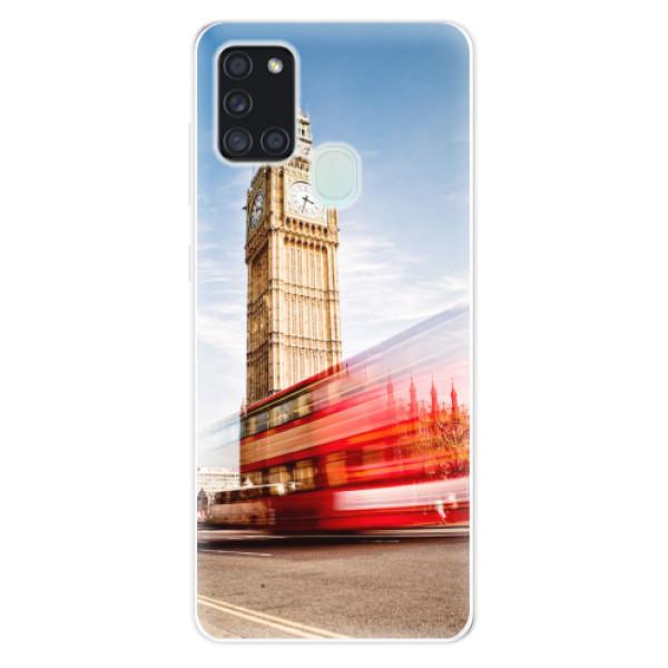 Odolné silikonové pouzdro iSaprio - London 01 - Samsung Galaxy A21s