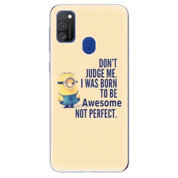 Odolné silikonové pouzdro iSaprio - Be Awesome - Samsung Galaxy M21