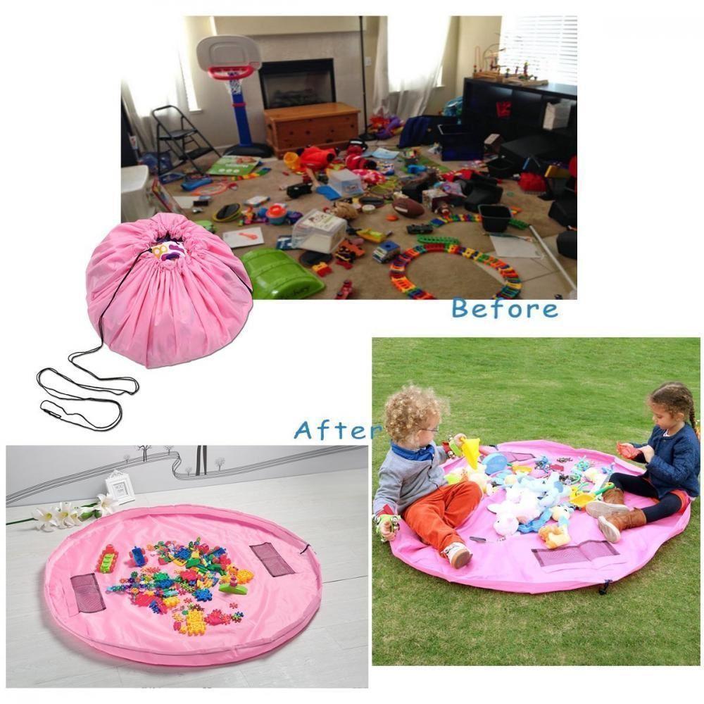 Vak na hračky růžový - velký