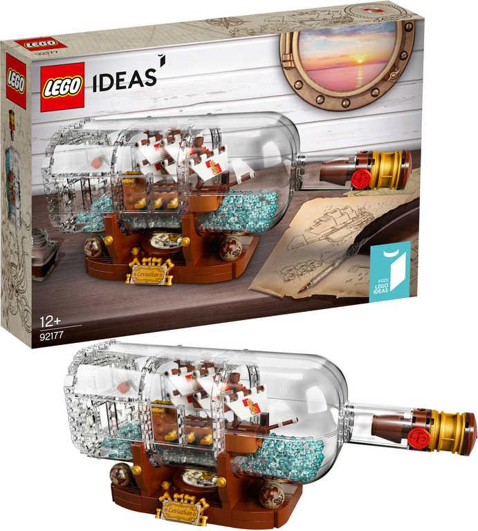LEGO IDEAS Loď v láhvi 92177 STAVEBNICE