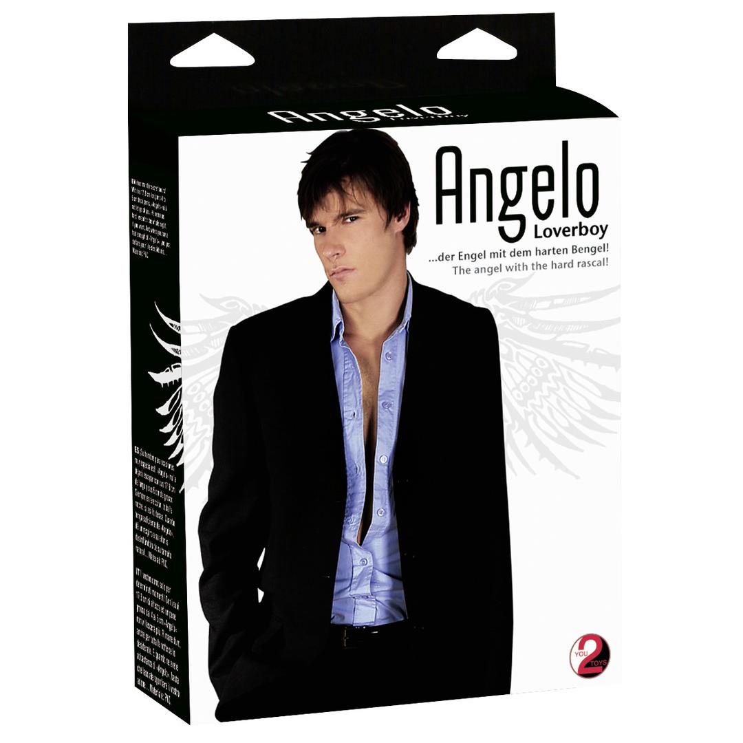 Nafukovací muž Loverboy Angelo Liebespuppe
