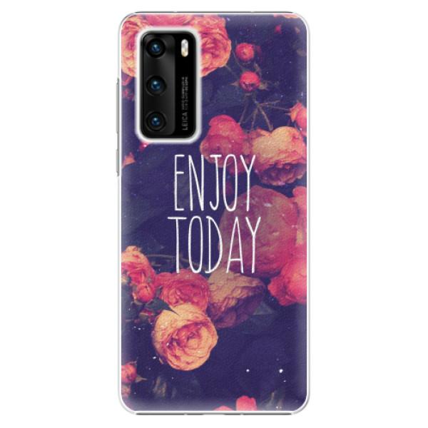 Plastové pouzdro iSaprio - Enjoy Today - Huawei P40