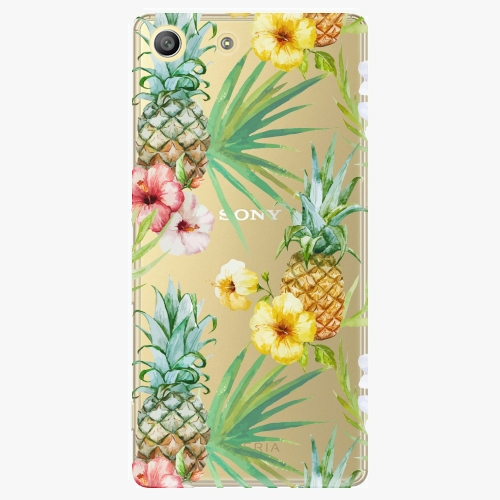 Plastový kryt iSaprio - Pineapple Pattern 02 - Sony Xperia M5