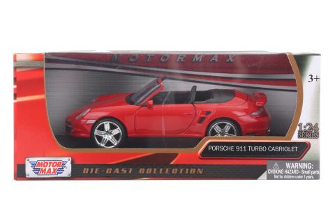 1:24 Porsche 911 Turbo Cabriolet