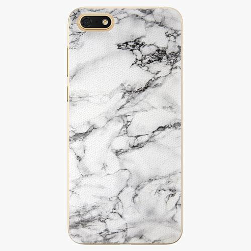 Silikonové pouzdro iSaprio - White Marble 01 - Huawei Honor 7S