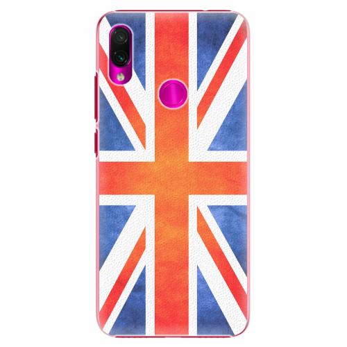 Plastový kryt iSaprio - UK Flag - Xiaomi Redmi Note 7