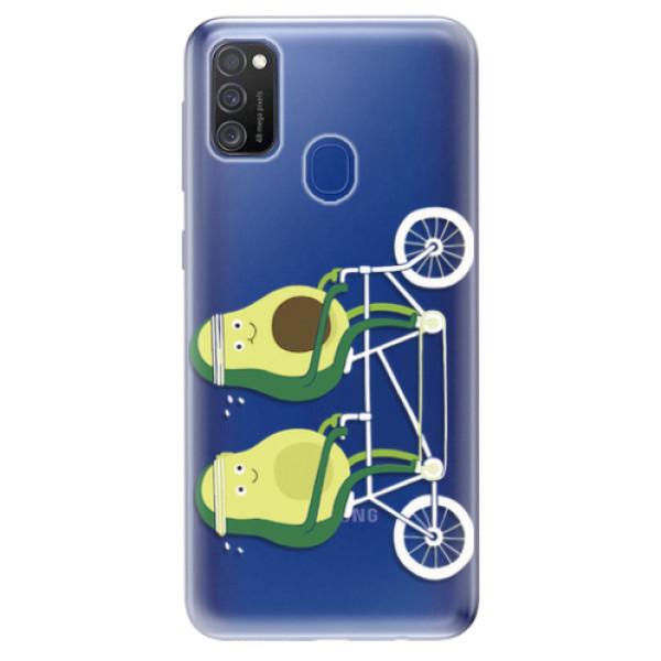 Odolné silikonové pouzdro iSaprio - Avocado - Samsung Galaxy M21