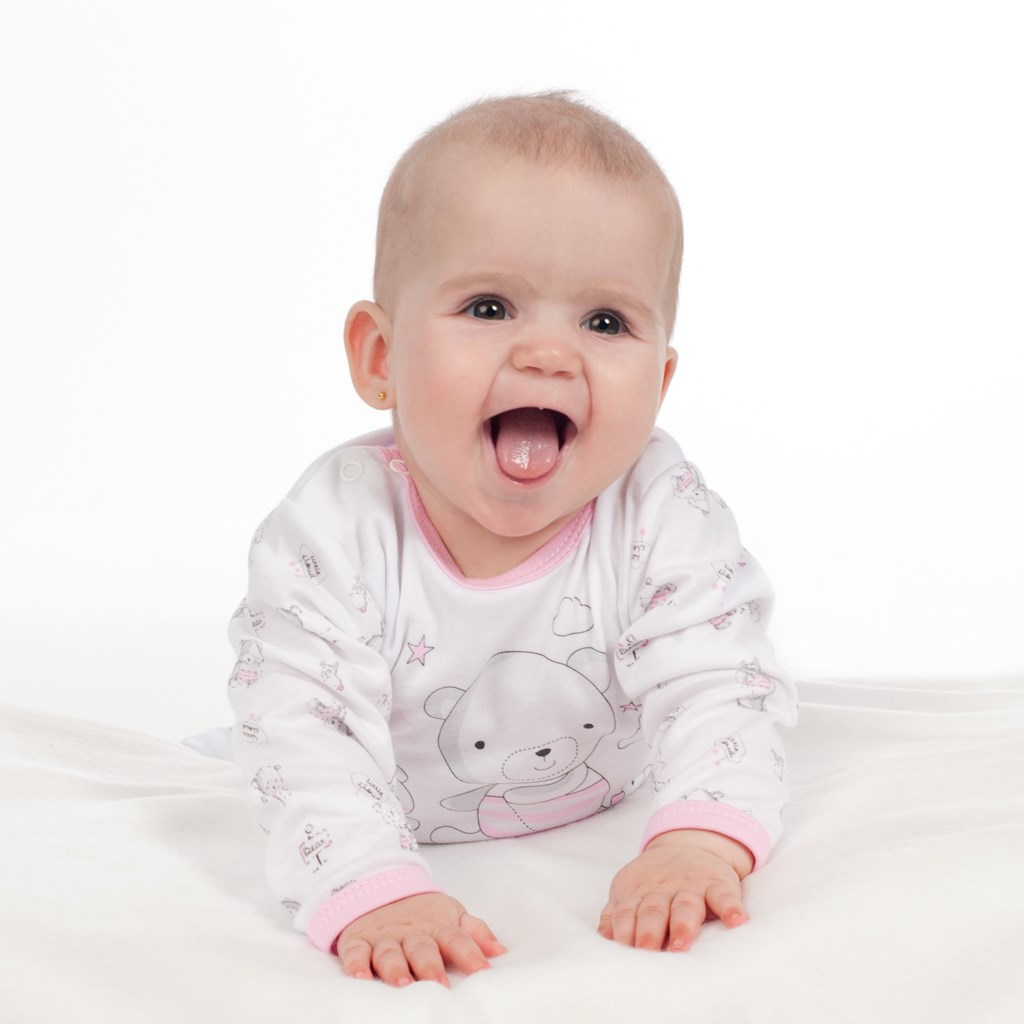 Kojenecké celorozepínací body New Baby Bears