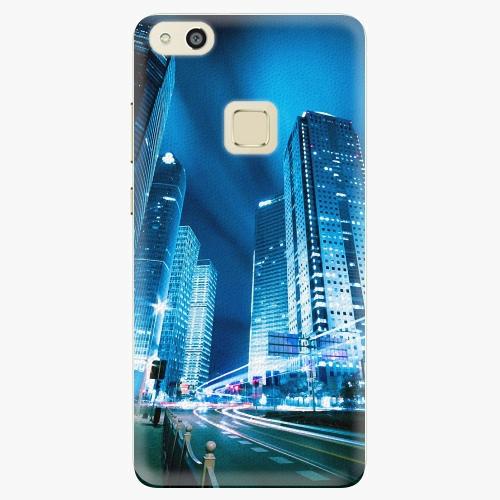 Plastový kryt iSaprio - Night City Blue - Huawei P10 Lite