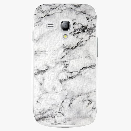 Plastový kryt iSaprio - White Marble 01 - Samsung Galaxy S3 Mini