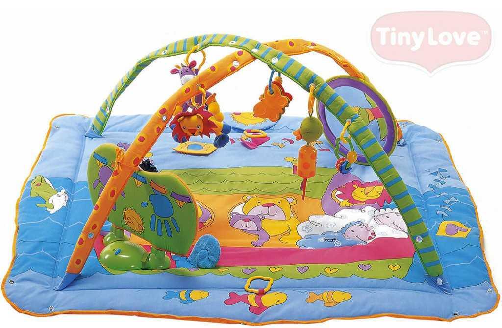 TINY LOVE Baby Gymini deka hrací s aktivitami s hrazdou na baterie Světlo Zvuk