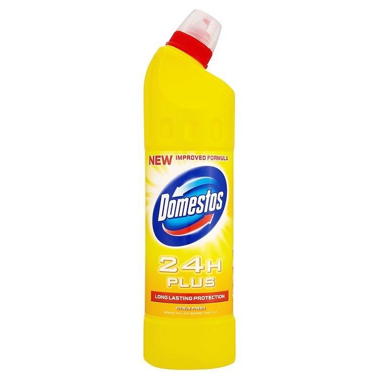 24H Plus tekutý desinfekční a čisticí přípravek Citrus 750 ml