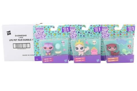 Littlest Pet Shop Maminka s miminkem a doplňky - cena za 3 ks