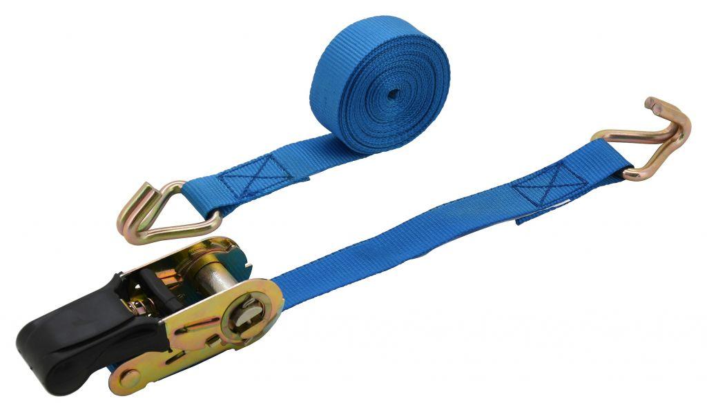 Popruh s ráčnou a háky - 5 m