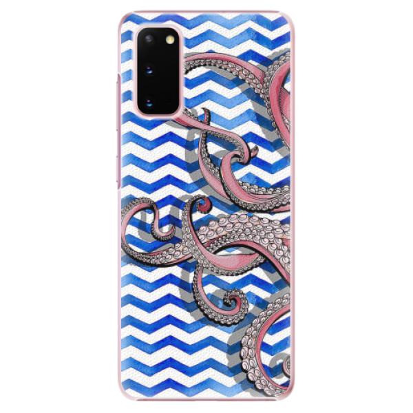 Plastové pouzdro iSaprio - Octopus - Samsung Galaxy S20