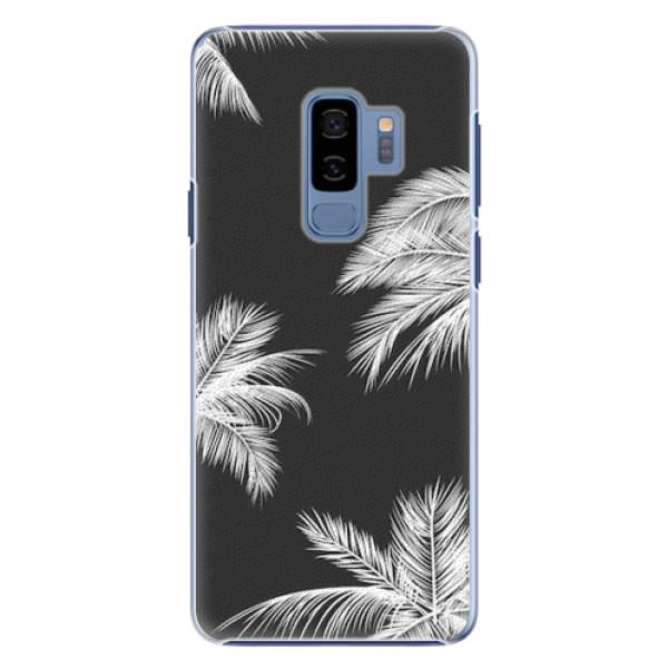 Plastové pouzdro iSaprio - White Palm - Samsung Galaxy S9 Plus