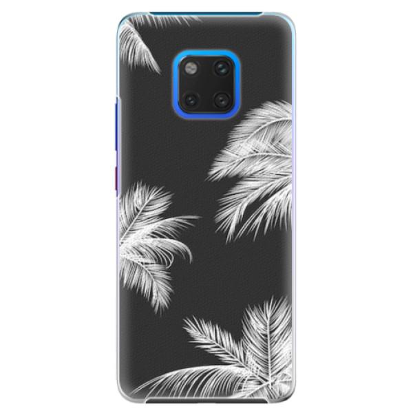 Plastové pouzdro iSaprio - White Palm - Huawei Mate 20 Pro
